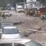 चमोली में फटा बादल, मलबे और बारिश मची तबाही —